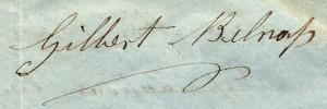 Signature_Belnap_Gilbert_1856-03-28